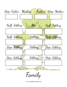 Family Tree Stepfamily
